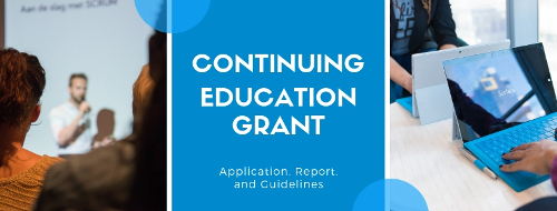 Continuing Education Grant Banner