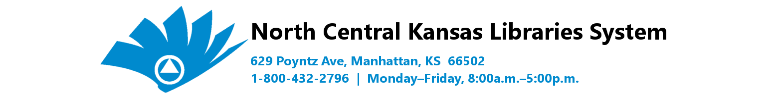 North central kansas libraries system 1 800 432 2796 monday friday toggle navigation fandeluxe Gallery